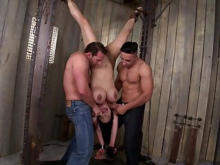 Tigerr Benson Butt Fucking BDSM Casting Slinky
