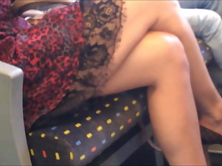 Hidden camera on the train