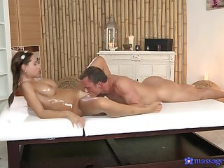 Intense massage and hard sex be proper of a busty wife