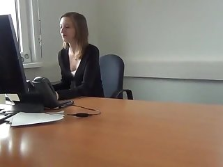 Büro Sex mit female choice österreichischen Mädchen