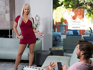 Milf London River loves alongside fuck young cock