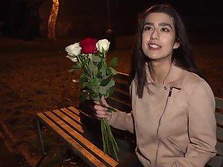 Late night fucking with a pretty stranger girl Aaeysha to POV