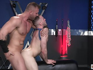 Endless anal prurience for a pair be advisable for hungry gay lovers