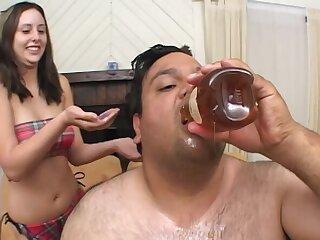 Dirty panhandler with a small dick fucks lickerish night-time Ashley Jordan