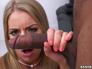 Balls deep pussy and ass fucking makes sweet Candice Dare mourn over and cum
