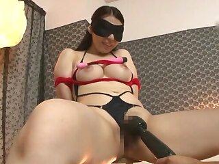 BDSM talisman video with maledom over slutty Minatsuki Chihiro