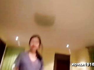 KOREA1818.COM - Sweet Korean Girl Blows and Fucks Lucky BF