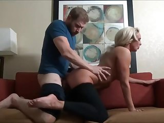 Stepson massages mommy and cums in her face - Watch Part 2 on Hotcam666