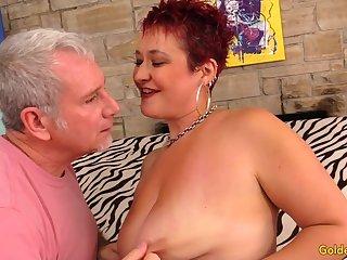 Older Floozy Scarlett O Ryan Twerks The brush Big Ass While Bouncing on a Hard Dick