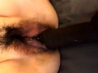 Christie Stevens has interracial xxx close to big dicked man
