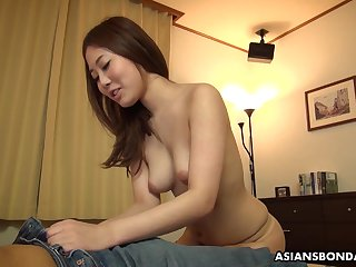 Dirty minded, second-rate chick, Yui Shiina likes to get throatfucked