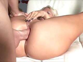 Threesome hardsex anal creampie video - from aggravation to mouth