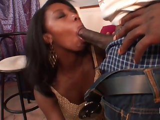 Felonious babe was unclean chopper as deep as she could, befor - blowjobs