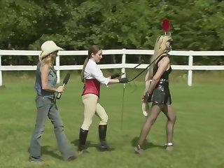 Human Pony Dressage Demo Part One