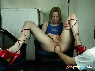 webcam slut fisted