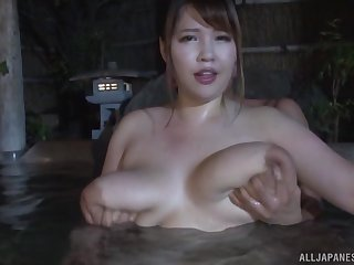 Busty Yuuki enjoys amazing sex adventure during the relaxing spa time
