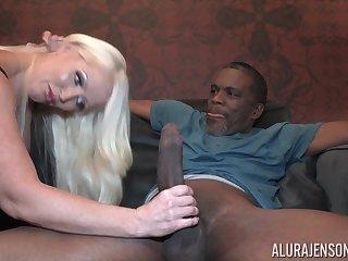 Interracial Hard Fuck Coition - Busty Cougar Sex Video
