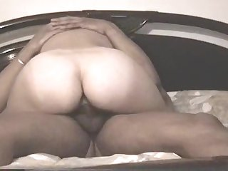 Blanched gf rides and gets rolling in money doggy style with cum in pussy