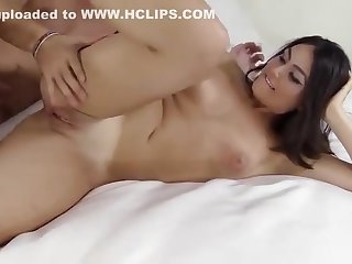 Teenage student Kylie is dynamic in bore fuck action