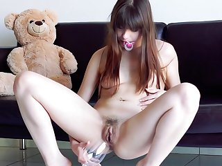 Look forward Subfuscous Fuck up puff up Toying Her Ass In Fetish Solo
