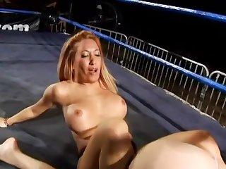 Busty Defoliate Wrestling