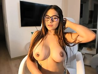 Big-Boobed black-haired says that she is a crappy sista of Mia Khalifa, just a bit hornier