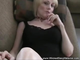 Wicked Sexy Melanie only wants your commitment here.