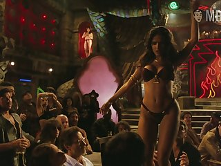 Salma Hayek's table dance from Dusk till Day one is sexy and erotic