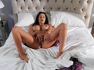 MILF with insane juggs, premium solo teaser before a wild light of one's life