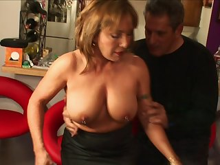 Well-versed snatch Jazebel with pierced nipples fucked wide of a huge wang