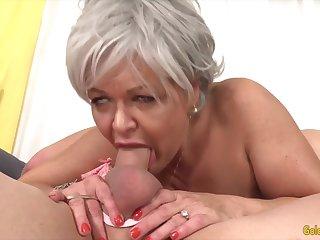 GoldenSlut - Elder statesman Ladies Show lacking Their Horseshit Sucking Skills Compilation 19
