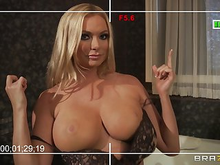 Busty wife Briana Banks loves to have sex all round will not hear of big dick neighbor